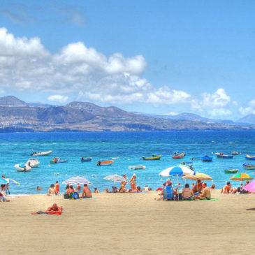 Die Landschaft auf Gran Canaria